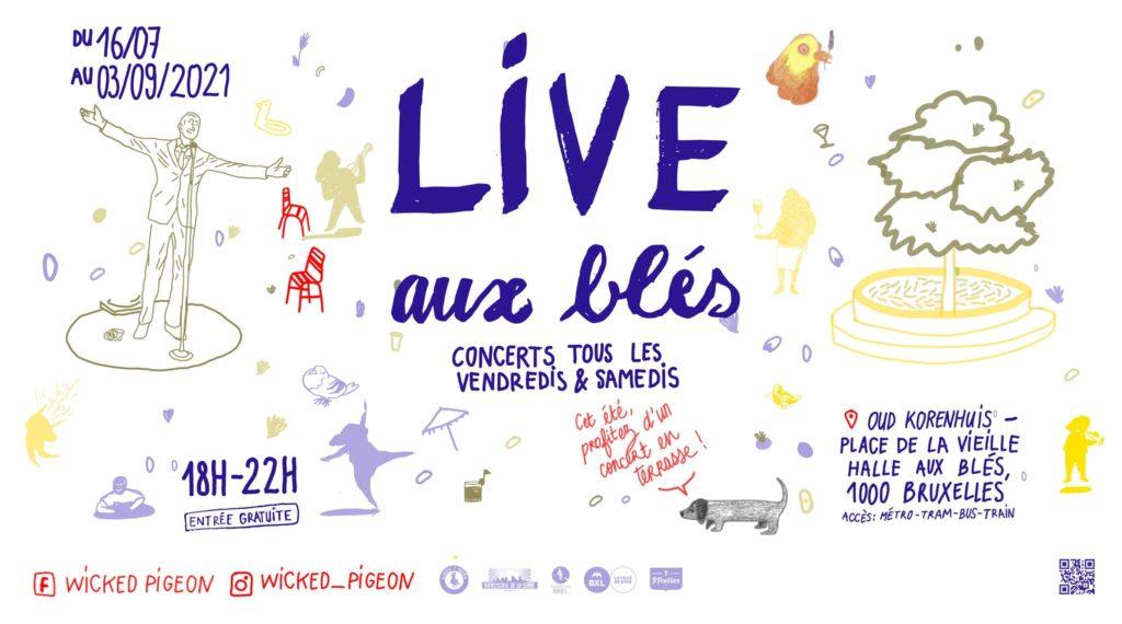 LIVE AUX BLES
