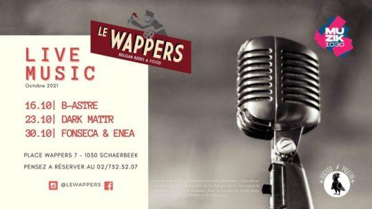B-Astre au Wappers   #muzik1030